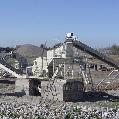 Chile 50T/H Gravel Crushing Line