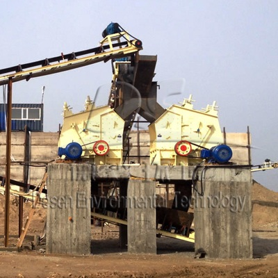 South Africa Limerstone 180T/H Crushing line
